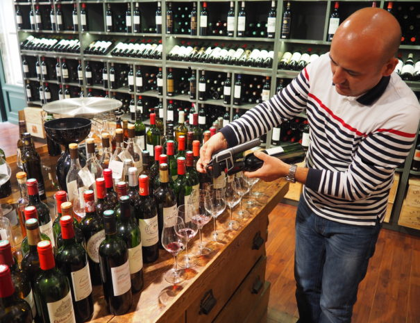 wine tour saint emilion